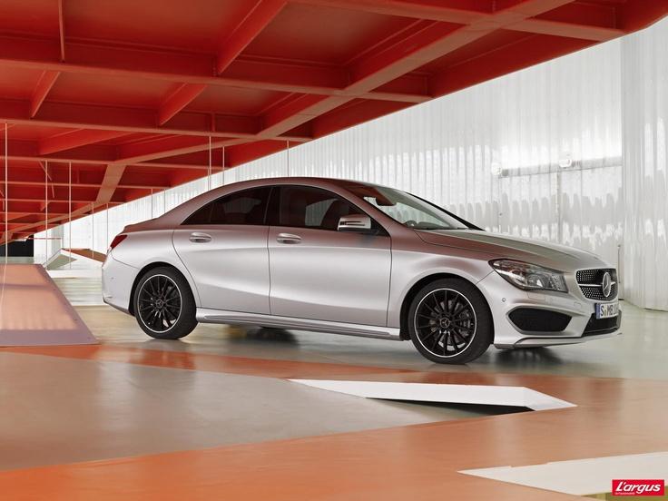 Mercedes-Benz CLA CLS en miniature