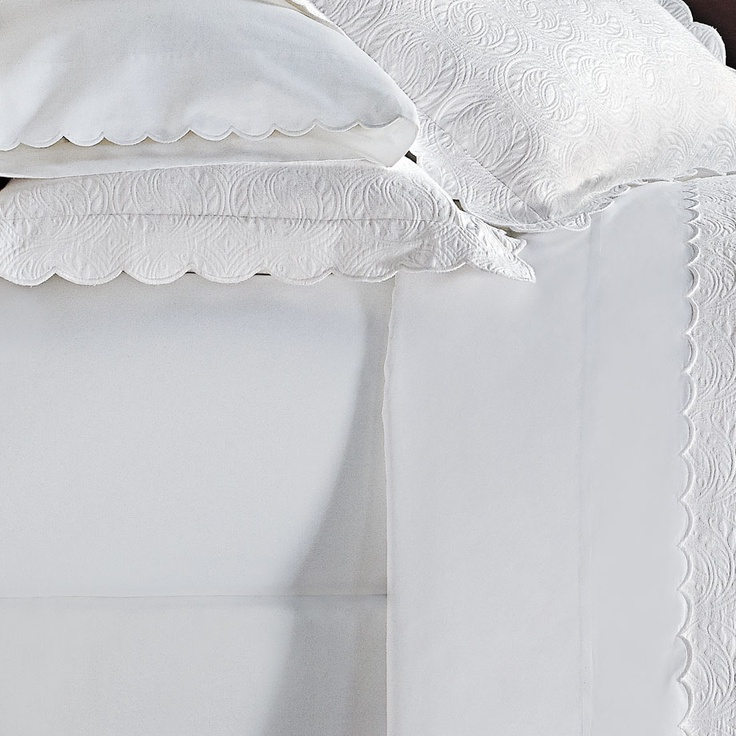 Product Detail Peacock Alley Scallop Sheet Set