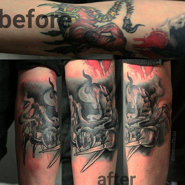 Sergey Jaer #tattoo #rtats #jaer_x #ink #coverup #cover