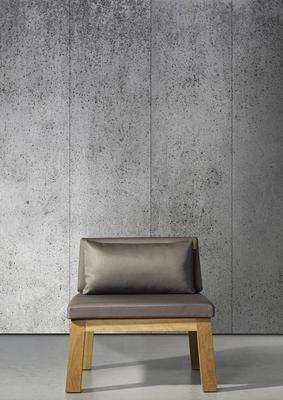 Piet Boon Behang betonlook concrete5, grijs, 9 meter