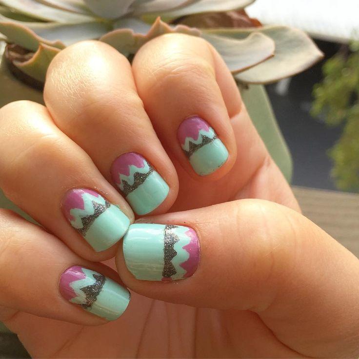 60 best My Nail Art Creations images on Pinterest | Nailart, Nail ...