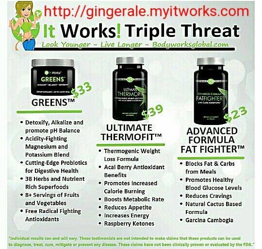 Triple Threat! Greens, Ultimate Thetmofit, & Fat Fighter! itworks #bodywrap #tone #tighten #firm #loseweight #skinnywrap #thatcrazywrap #itworkscrazywrap #bikinibody #summerready #beachready #cellulite #removecellulite #wrap #define #detox #confidence #joinme #challenge #motivation #determination #push #thermofit #ultimatethermofit #fatfghters #fatfighter #greens #greensberry #teamberry #triplethreat