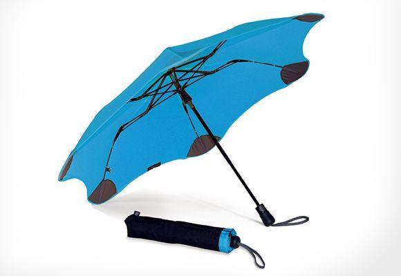 折りたたみなのに風速20mにも耐えられる!空気力学フォルムを持つ傘