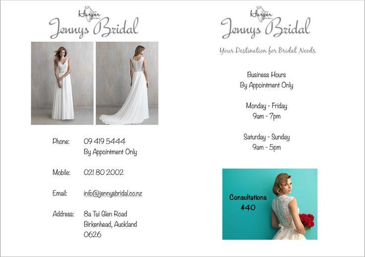 New dresses at jennysbridal.co.nz !!!