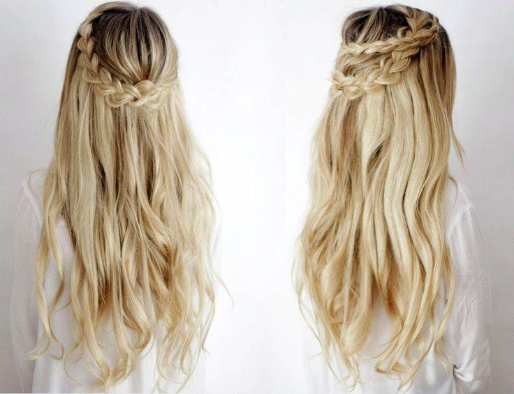 awesome Красивые прически на длинные густые волосы (50 фото) — Простые идеи для пышных кос
