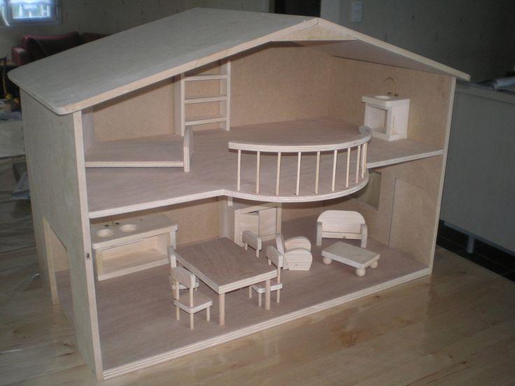 les 25 meilleures id es de la cat gorie plans de maison de poup e sur pinterest diy maison. Black Bedroom Furniture Sets. Home Design Ideas