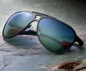 Breed Apollo Black Carbon Fiber Sunglasses