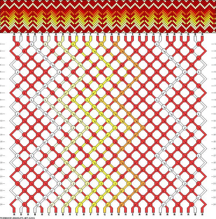 28 strings, 24 rows, 9 colors