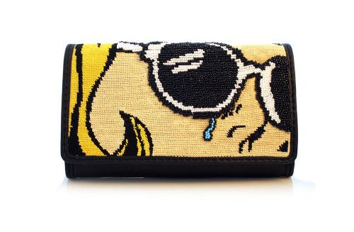 A clutch from the 2014 Pop Art collection | Source: Sarah's Bag @Karen Pope