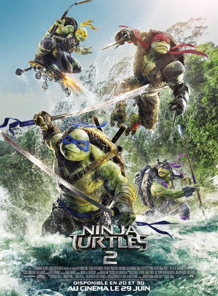 Michelangelo, Donatello, Leonardo et Raphael sont de retour pour affronter des méchants toujours plus forts et impressionnants, aux côtés d'April O'Neil, Vern Fenwick et d'un nouveau venu, le justi...