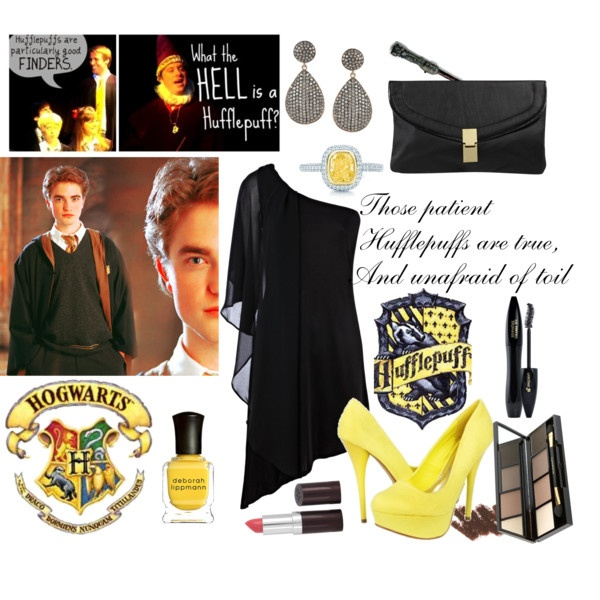 Hufflepuff Outfit ------- Ok, you know how I feel about this guy BUT that outfit is too AWEWOME not to pin!!!!®