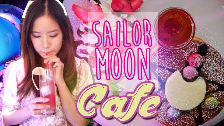 KimDao visits a Sailor Moon Cafe with Kaotsun in Japan!