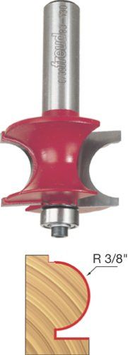 Freud 80-130 3/8-Inch Radius Traditional Beading Router Bit with 1/2-Inch Shank