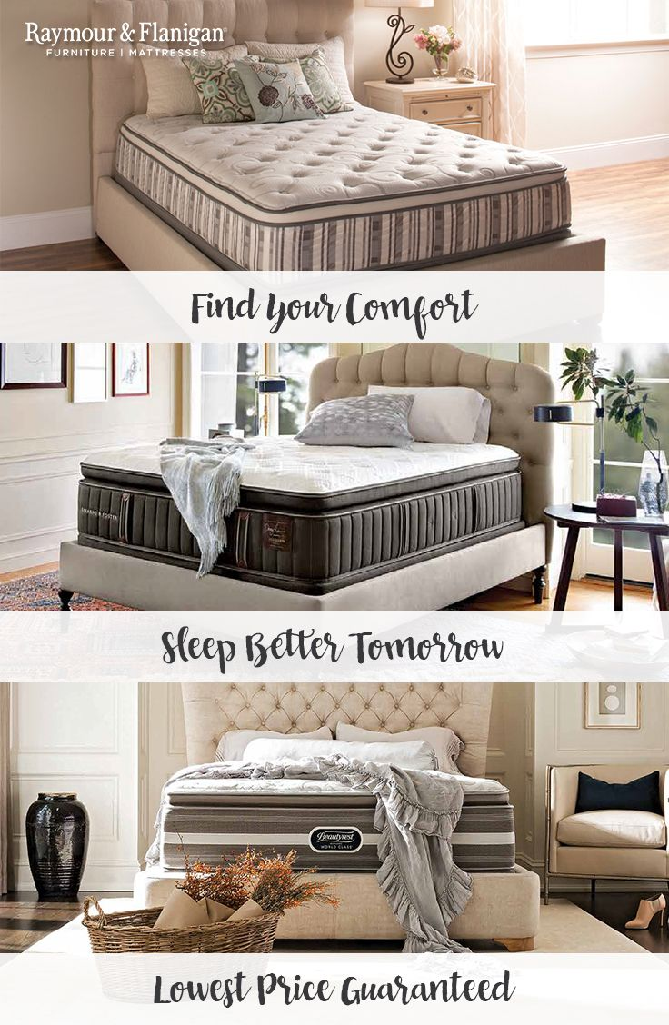 Browse an extensive selection of mattress sets