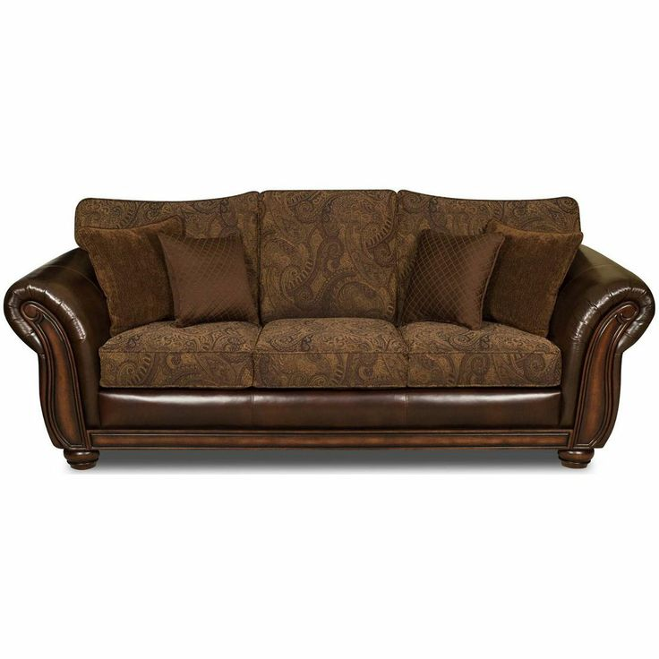 Modern Sectional Sofas Simmons Vintage Leather Tobbaco Fabric Queen Size Sofa Sleeper from Simmons Upholstery