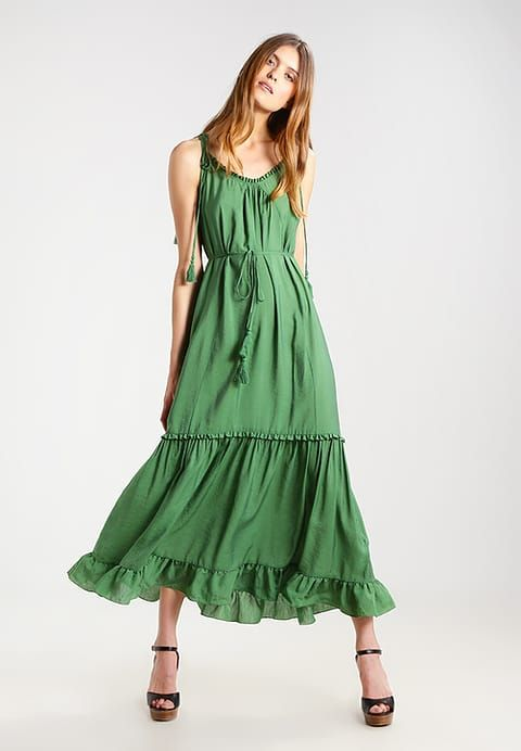 Whistles TASSLE TIE - Maxi dress - green for £129.99 (28/06/17) with free delivery at Zalando