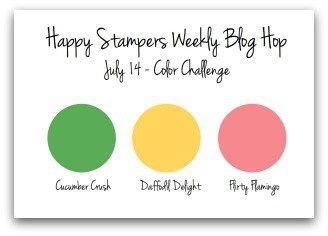 July 14 - Happy Stampers Color Challenge