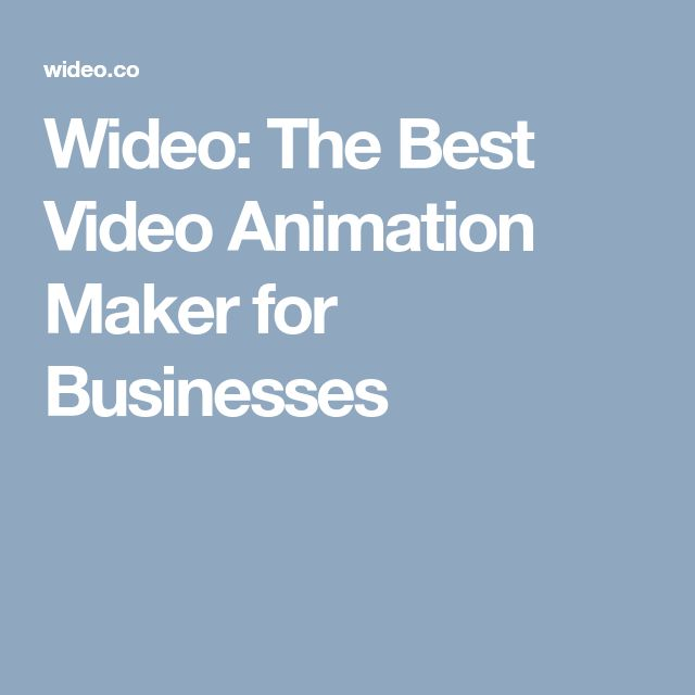 Wideo: The Best Video Animation Maker for Businesses