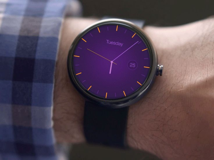 Android Wear - Clock App, Part 2 [GIF]