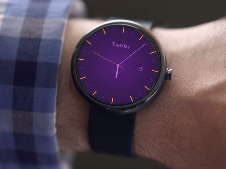 Android-wear-design-concept-app-clock