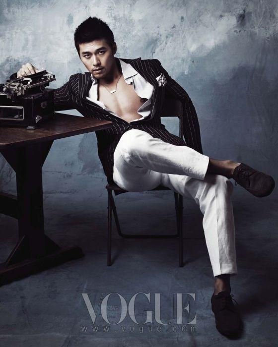 Hyun Bin (현빈) for Vogue. #HyunBin #KDrama