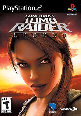 Lara Croft: Tomb Raider -- Legend  (Sony PlayStation 2, 2006) Complete #gamersunite #retro #tombraider