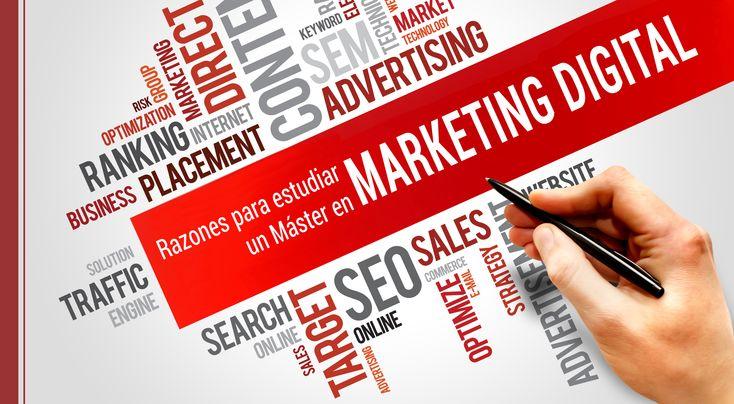 Seguramente realizar un máster en marketing digital aportará valor a tu carrera profesional, si quieres trabajar en el sector. ¡Conoce más razones!
