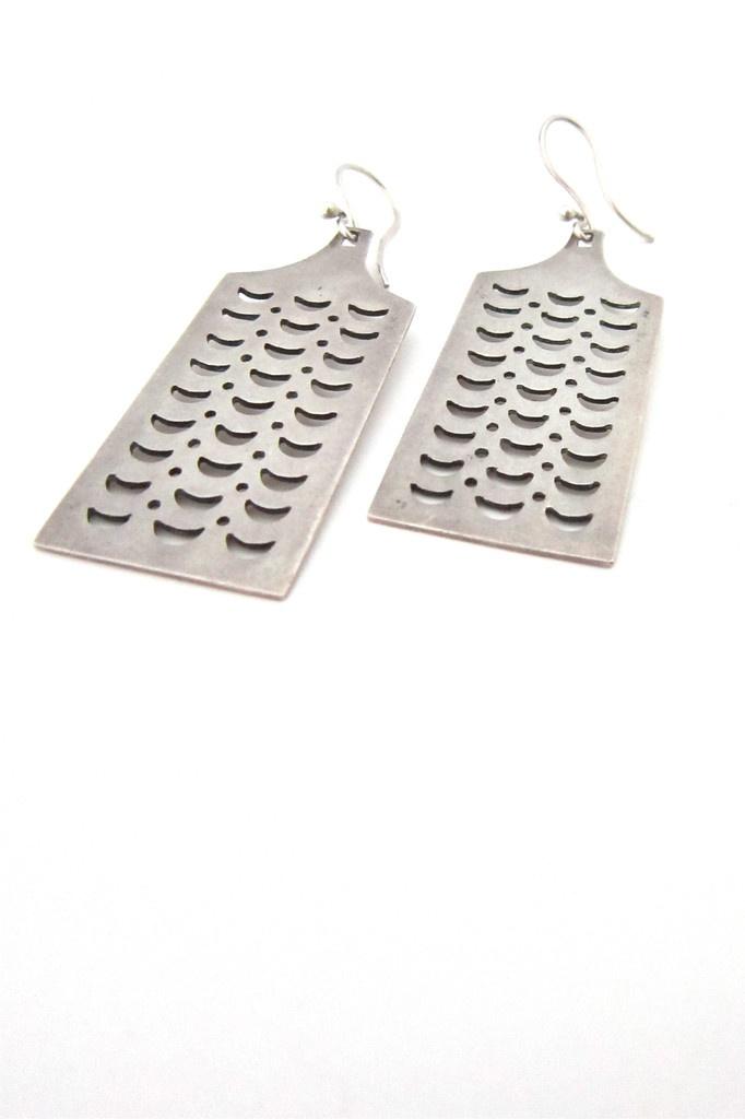 Tone Vigeland Norway silver earrings