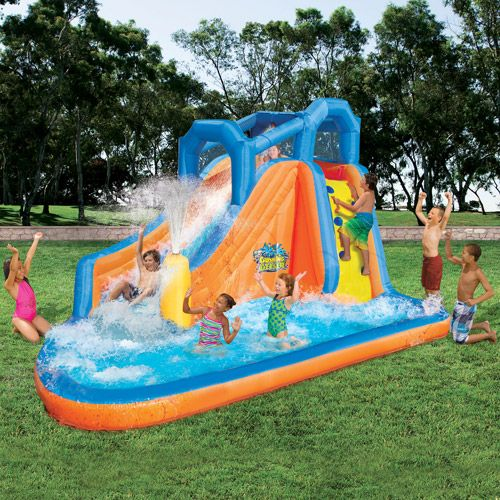 Kids Pools With Slides 11 best kid pool/toys images on pinterest | summer fun, inflatable