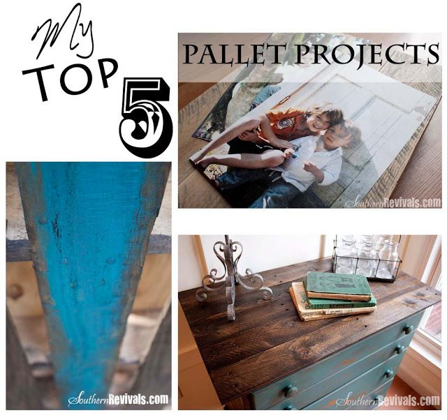 Southern Revivals: My Top 5 DIY Pallet Projects