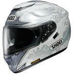 3307062L - Shoei Helmets White/Gray GT-Air Grandeur TC-6 Helmet