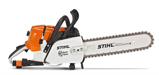 The #STIHL GS 461 Rock Boss - a powerful concrete cutter that's designed for deep cutting and square corners (perfect for construction and renovation projects).   #rockboss #stihlrockboss