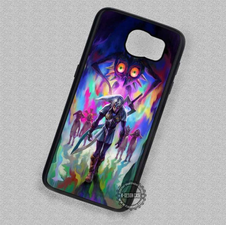 Warrior with The Curse Majora's Mask The Legend of Zelda - Samsung Galaxy S7 S6 S5 Note 7 Cases & Covers