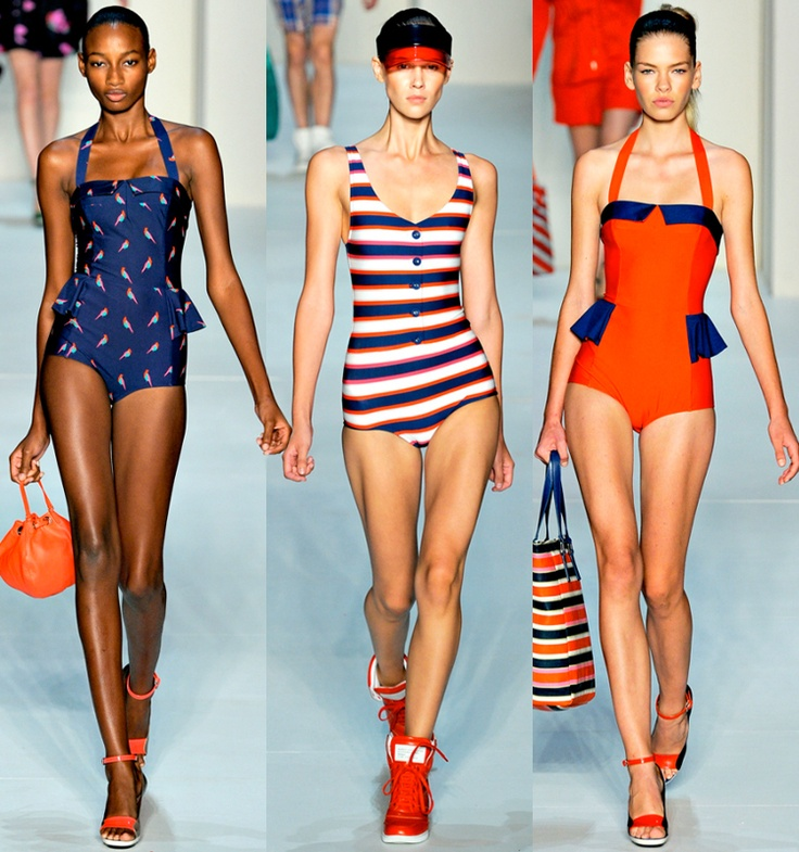 I would wear these Marc Jacobs 2012 suits as outfits.