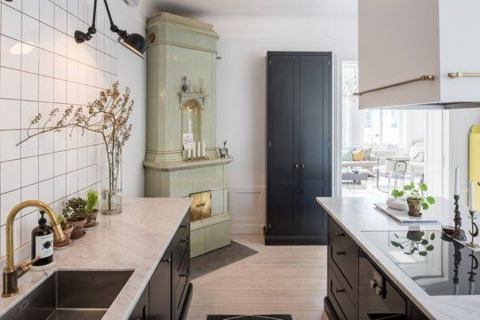 Scandinavians are always right on the cutting edge of things when it comes to design, and kitchens are no exception. So I dug through my treasure trove of lovely kitchen images to find these five especially beautiful spaces, full of ideas worth stealing for your next renovation.