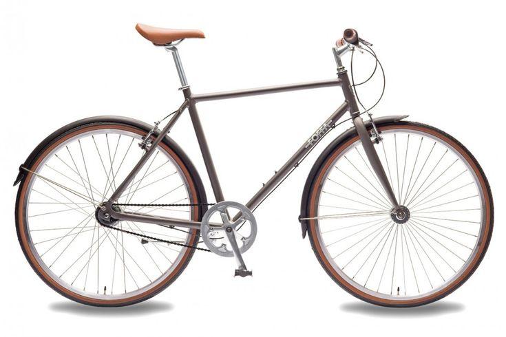 Grey Urban 7 Speed Nexus Bike - City Hybrid Commuter Bicycles