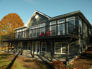 Custom Built Home On The Scenic Waterfront Facing The Picturesque MarriottsCove