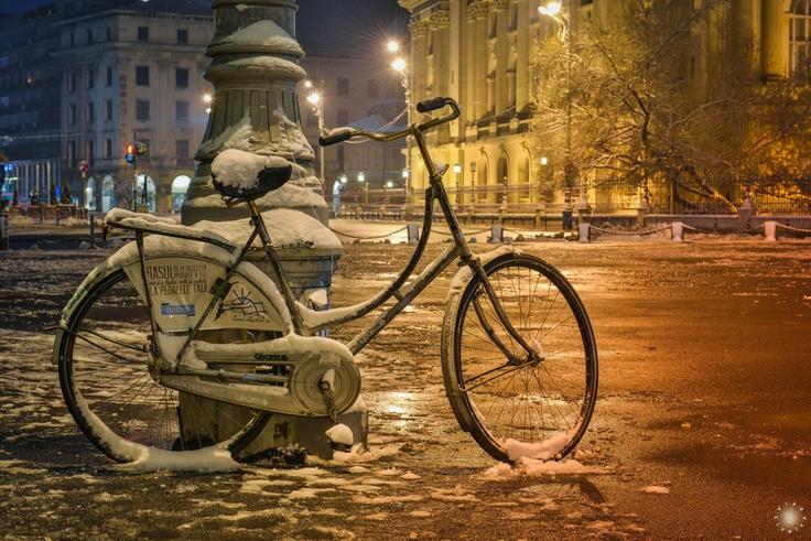Bike in Bucharest