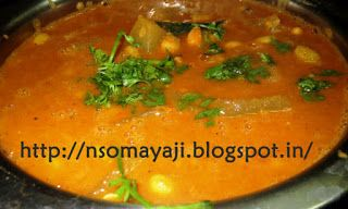 ಅಡಿಗೆ (Adige): Mangalore Southekai-Avarekai Spicy Curry
