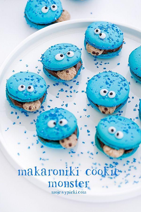 Makaroniki Cookie Monster