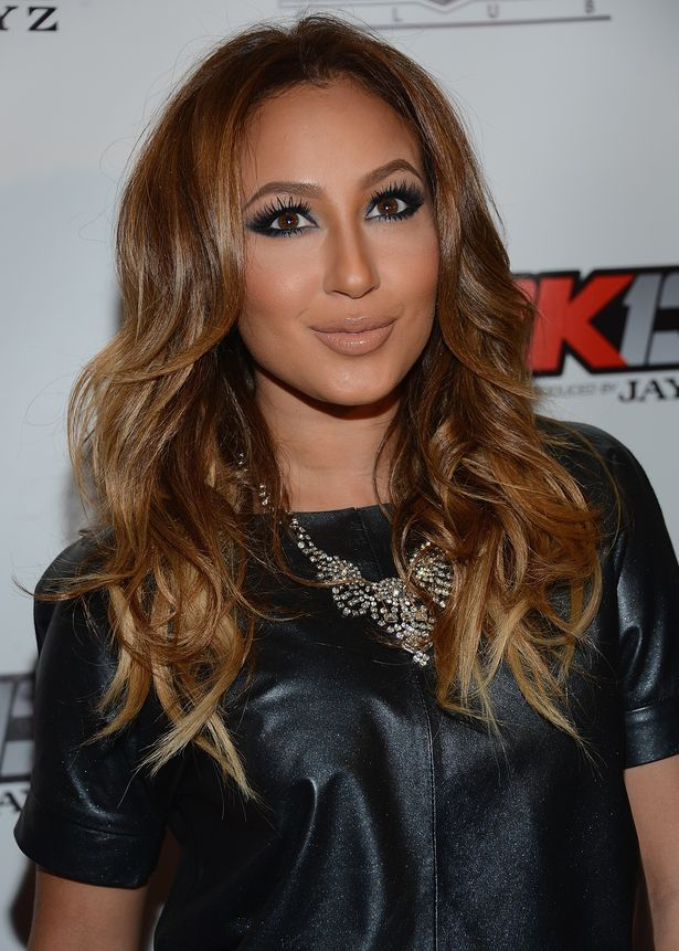 Scrumptious and Sexy Adrienne Bailon ...Dapper ideal Lady... Starting in 2007, Bailon began dating Rob Kardashian, the brother of Kim Kardashian. While dating Rob, Bailon appeared in a total of eight episodes of the reality series Keeping Up with the Kardashians, appearing as Rob's girlfriend
