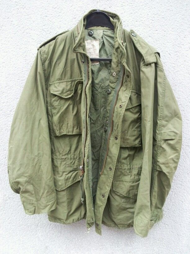 3c70c89027f Authentic vintage U.S. army issue M-65 jacket. One of my favorite  all-purpose jackets ... best of all I got it for free!!
