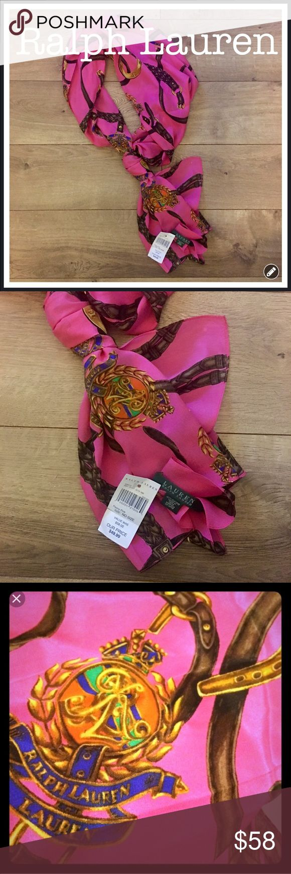 Ralph Lauren Pink Scarf 💕 Ralph Lauren Pink Scarf, brand new and perfect for spring. it was purchased at the Ralph Lauren Factory store at the Philly Premium Outlets. 💕 Ralph Lauren Accessories Scarves & Wraps