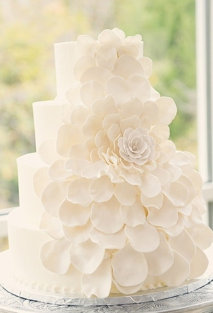 Lovely white cake.  Starting a Catering Business  Start your own catering business  http://www.startingacateringbusiness.com