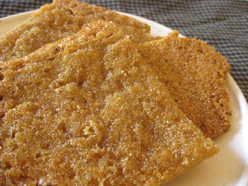 Amaranth flatbread (gluten free, vegan)