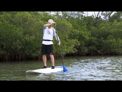"""Stand Up Paddling TV """"How to Paddle Straight"""""""