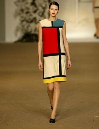 Vintage YSL inspiration Mondrian