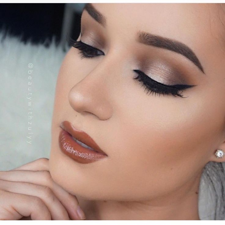 """""""Love @beautywithzulyy makeup style. And im living for the warm tones  she's got a YouTube tutorial on her YouTube ! Link in her bio !"""""""