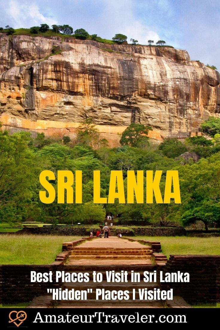 Best Places To Visit In Sri Lanka Hidden Places I Visited