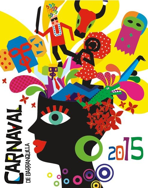 Logo del Carnaval de Barranquilla 2015